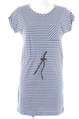 Esprit Shirtkleid weiß-blau Casual-Look