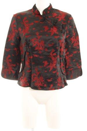 Esprit Tunique noir-rouge imprimé avec thème style extravagant