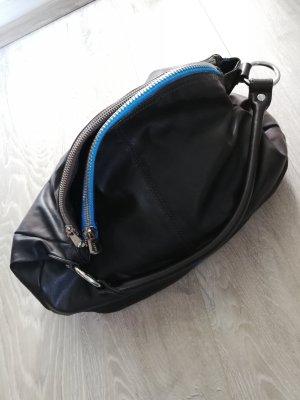 Esprit Shopper donkerbruin-blauw