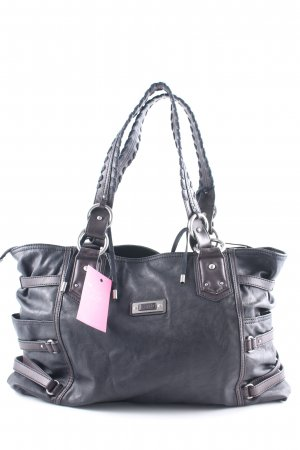 Esprit Shopper schwarz-dunkelbraun Casual-Look