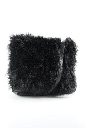 Esprit Shopper black fluffy