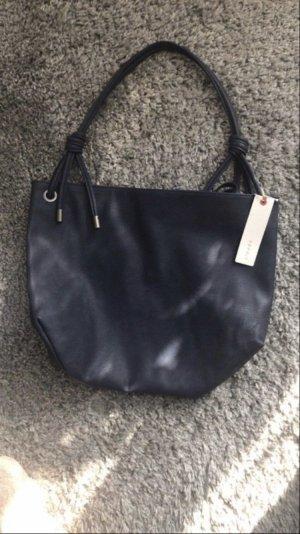 Esprit Shoppingbag dunkelblau NEU