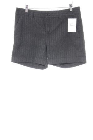 Esprit Shorts dunkelgrau-blassblau Streifenmuster Brit-Look