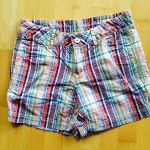 Esprit Shorts Gr. 32 kariert bunt kurze Hose hotpants