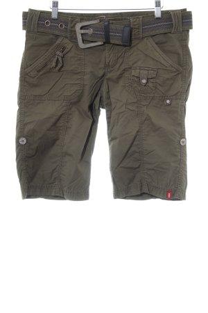 Esprit Shorts grüngrau Casual-Look