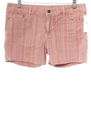 Esprit Shorts lachs-hellrot Mustermix sportlicher Stil