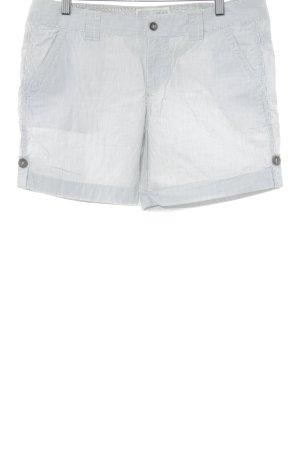Esprit Shorts weiß-schwarz Streifenmuster Casual-Look