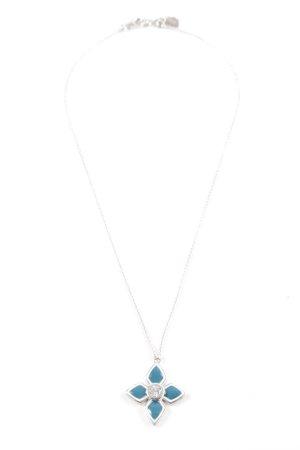 Esprit Silberkette silberfarben-blau Elegant