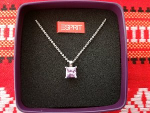 Esprit Silver Chain mauve-silver-colored