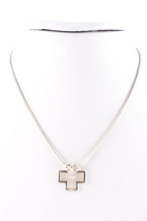 Esprit Zilveren ketting zilver-roségoud klassieke stijl