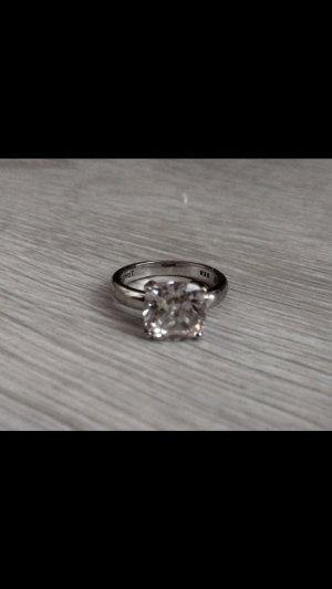 Esprit Silberring mit großem Swarovski Stein