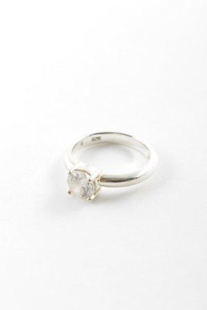 Esprit Silver Ring silver-colored elegant