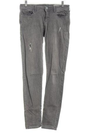 Esprit Jeans skinny grigio chiaro stile casual