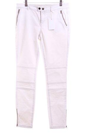 Esprit Skinny Jeans creme-silberfarben Casual-Look