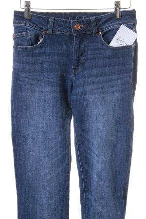 Esprit Skinny Jeans dunkelblau-graublau Casual-Look