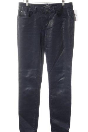 Esprit Skinny Jeans dunkelblau Street-Fashion-Look