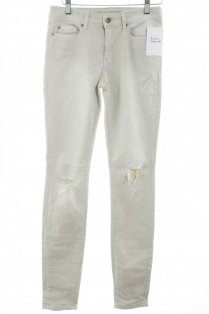 Esprit Skinny Jeans oatmeal distressed style