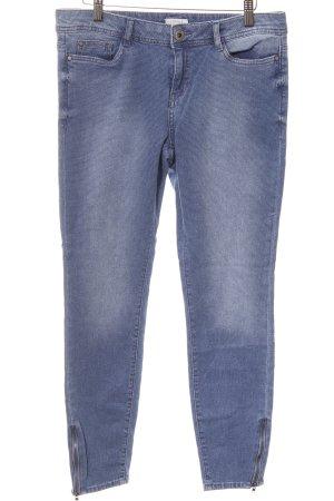 Esprit Skinny Jeans himmelblau Punktemuster College-Look