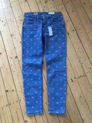 Esprit Skinny Jeans mit Herzen neu mit Etikett 59,99€