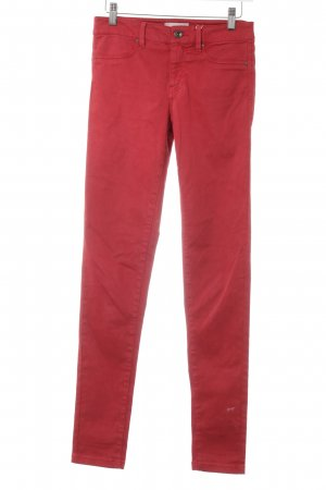 Esprit Skinny Jeans rot Casual-Look