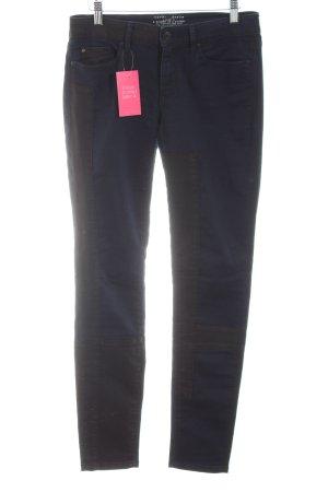 Esprit Skinny Jeans schwarz-blau Casual-Look