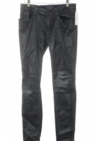 Esprit Skinny Jeans schwarz-dunkelblau Street-Fashion-Look