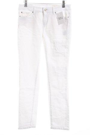Esprit Skinny Jeans weiß Used-Optik