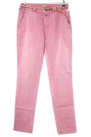 Esprit Slim jeans roze casual uitstraling
