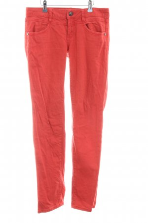 Esprit Slim Jeans rot Business-Look