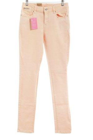 Esprit Slim jeans abrikoos casual uitstraling