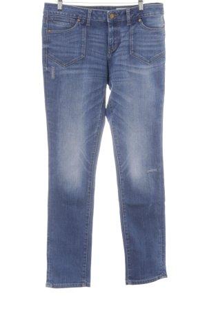 Esprit Slim Jeans blau Washed-Optik