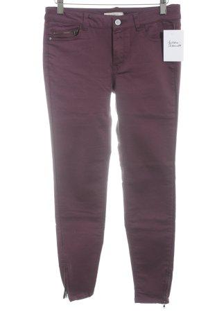 Esprit Slim Jeans brombeerrot Casual-Look