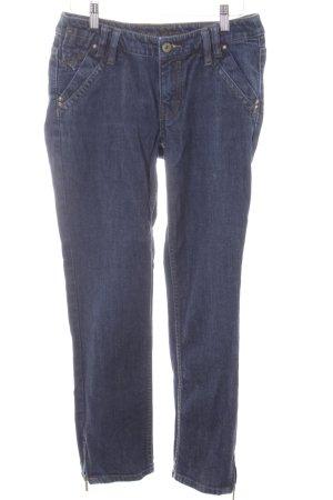 Esprit Slim Jeans dunkelblau Casual-Look