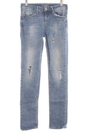 Esprit Slim Jeans hellblau Destroy-Optik