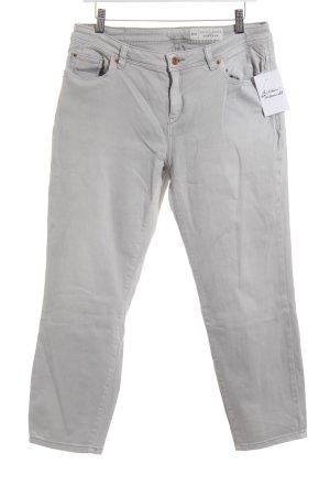 Esprit Slim Jeans hellgrau Biker-Look