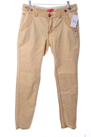 Esprit Slim Jeans ocker Casual-Look