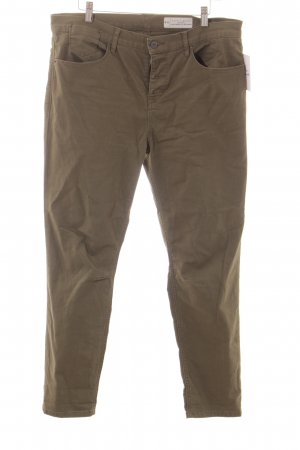 Esprit Slim Jeans olivgrün Casual-Look