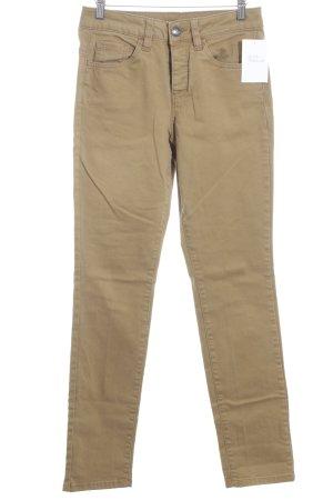 Esprit Slim Jeans sandbraun schlichter Stil
