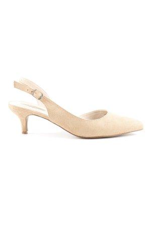 Esprit Slingback-Pumps beige Elegant