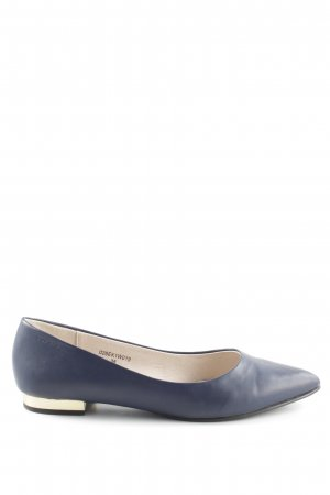 Esprit Pantoffels neon blauw-goud elegant