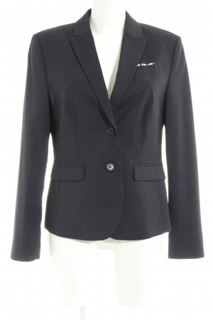 Esprit Tuxedo Blazer blue-dark blue pinstripe business style