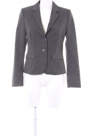 Esprit Smoking-Blazer grau-schwarz Vichykaromuster Business-Look