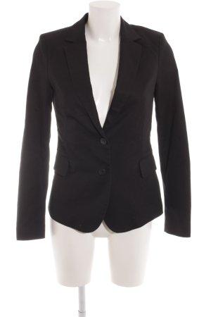 Esprit Blazer de esmoquin negro elegante
