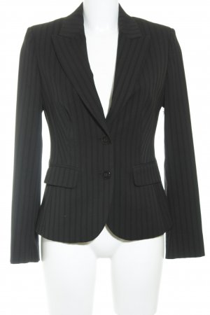 Esprit Smoking-Blazer schwarz Streifenmuster Business-Look