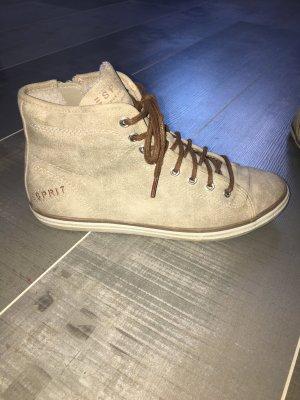 Esprit Sneaker beige braun Gr. 37