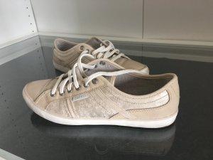 Esprit Sneaker beige rose Gr. 38
