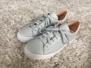 Esprit Sneaker grau Krokodilsleder