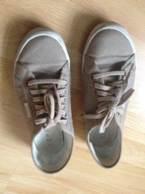 Esprit Sneakers aus Stoff, beige Gr. 40
