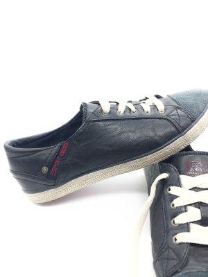 ESPRIT Sneakers leder Blau in 38