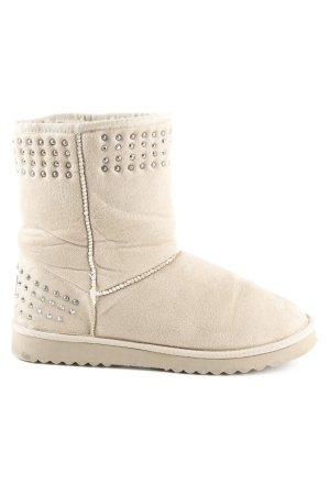 Esprit Snowboots beige Casual-Look